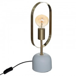 Lampe H44cm ÉDITION VÉGÉTALE - Doré