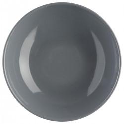Assiette creuse D22cm COLORAMA - Gris