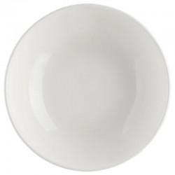 Assiette creuse D22cm - Ivoire