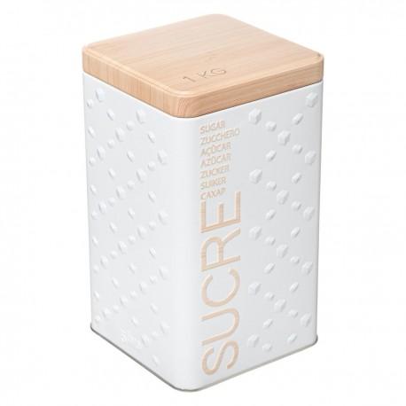 Boîte à sucre SCANDI NATURE BR6 - Blanc