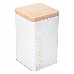 Boîte à farine 1kg SCANDI NATURE BR6 - Blanc