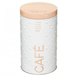 Boîte à café 500g SCANDI NATURE BR6 - Blanc