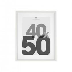 Cadre photo 40X50cm EVA - Blanc