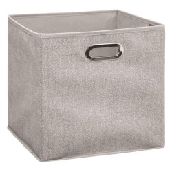 Boîte à rangement 31X31cm MIX'nMODUL - Beige chiné