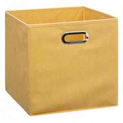 Boîte à rangement 31X31cm MIX'nMODUL - Jaune