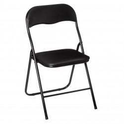 Chaise pliante BASIC - Noir