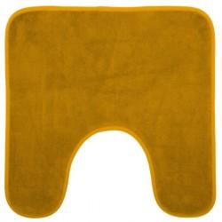 Tapis contour WC 48X48cm COLORAMA - Jaune