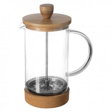 Cafetière en verre et bambou 60cL NATURE - Naturel