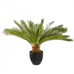 Plante artificielle ananas H72cm - Noir