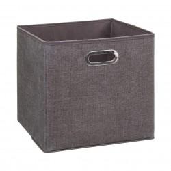 Boîte à rangement 31X31cm MIX'nMODUL - Marron chiné