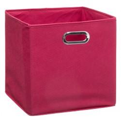 Boîte à rangement 31X31cm MIX'nMODUL - Framboise