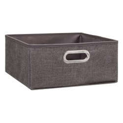 Boîte à rangement 15X31cm MIX'nMODUL - Marron chiné