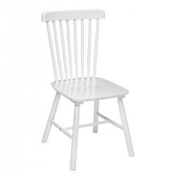 Chaise en bois ISABEL - Blanc