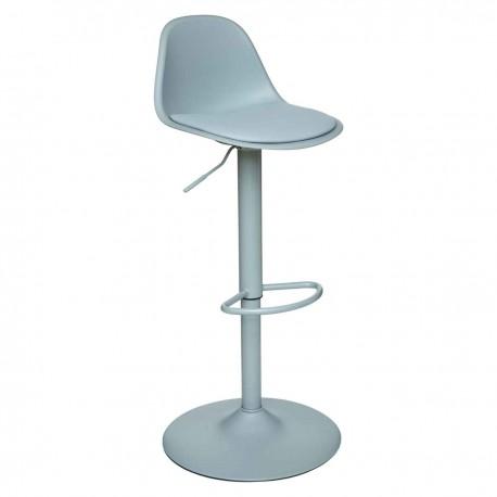 Chaise de bar ajustable H103cm AIKO - Bleu céladon