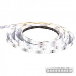 Ruban LED 5m à télécommande - Blanc froid