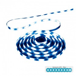 Ruban LED 3m - Bleu