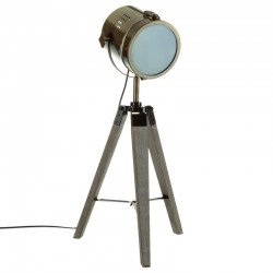 Lampe H68cm EBOR, FLOWER FACTORY - Bronze