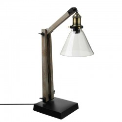 Lampe abat-jour en verre H59 ALAK, ESPRIT RÉCUP