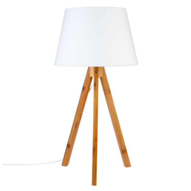 lampe en bambou h55 bahi blanc veo shop. Black Bedroom Furniture Sets. Home Design Ideas