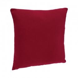 Coussin déhoussable 38X38cm - Rouge