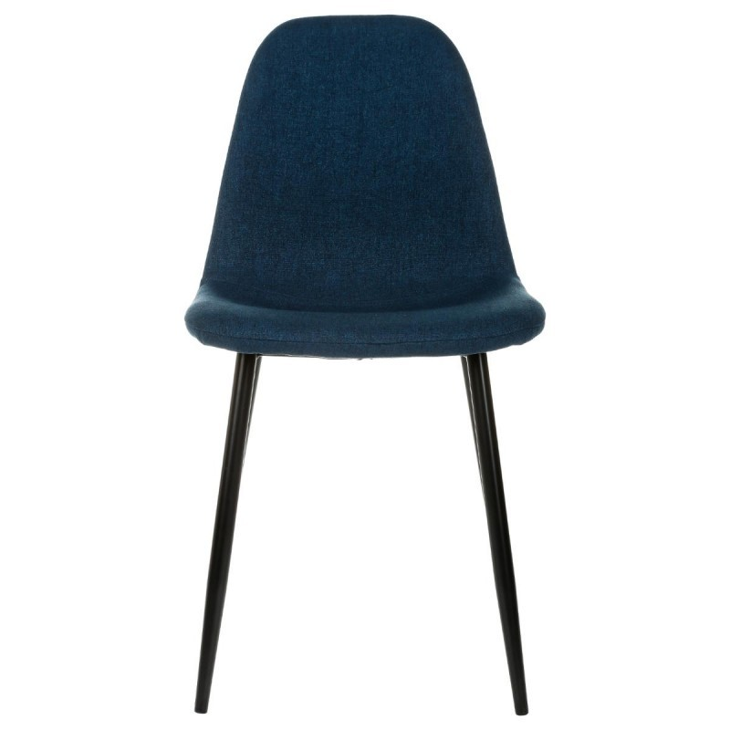 chaise tyka bleu marine veo shop