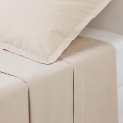 Drap plat en coton 290X180cm - Lin