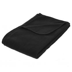 Plaid polaire 125X150cm - Noir