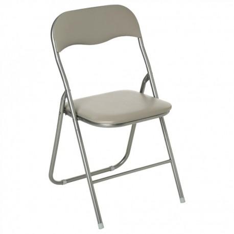 Chaise pliante BASIC - Taupe