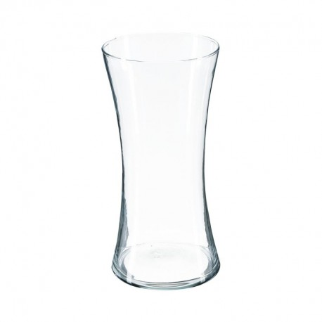 Vase cintré en verre H30cm CONTEMP' HOME - Transparent