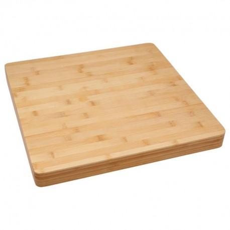 planche d couper carr e en bambou veo shop. Black Bedroom Furniture Sets. Home Design Ideas