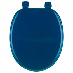 Abattant WC 18' en bois - Bleu marine