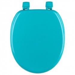 Abattant WC 18' en bois - Turquoise