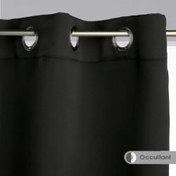 Rideau occultant 140X260cm - Noir
