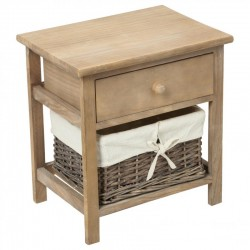 Table de chevet ABY, ESPRIT CAMPAGNE - Naturel