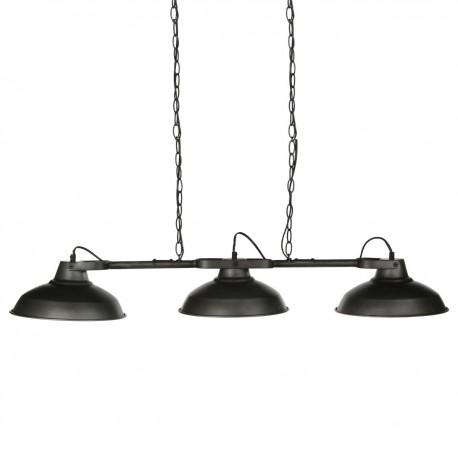 suspension en m tal 3 abats jour sorn veo shop. Black Bedroom Furniture Sets. Home Design Ideas