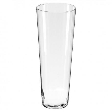 Vase conique H40cm CONTEMP' HOME - Transparent