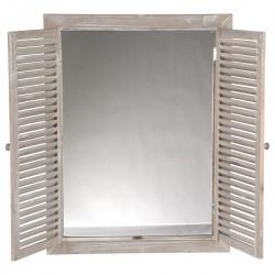 Miroir avec volets rabat 65X50cm - Sable