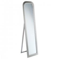 Miroir sur pied en bois 160X40cm ADELE, MEMORIES - Argenté
