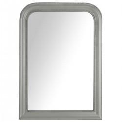 Miroir arrondi en bois 104X74cm ADELE, MEMORIES - Gris