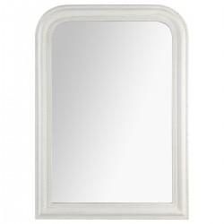 Miroir arrondi en bois 104X74cm ADELE, MEMORIES - Blanc