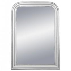 Miroir arrondi en bois 104X74cm ADELE, MEMORIES - Argenté