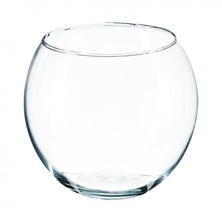 Vase en boule D15cm - Transparent