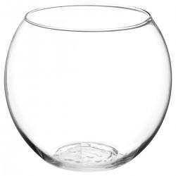 Vase en boule D19,5cm - Transparent