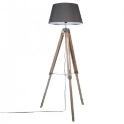 Lampadaire à trépied H145cm RUNO - Gris