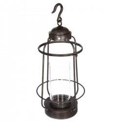 Lanterne en métal H62,5cm RETRO FACTORY, ESPRIT RÉCUP