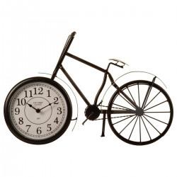 Pendule vélo à poser 52X32cm, ESPRIT RÉCUP