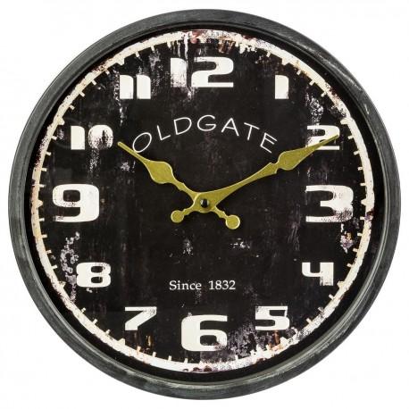 pendule d30 vintage clock noir veo shop. Black Bedroom Furniture Sets. Home Design Ideas