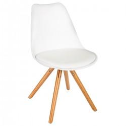 Chaise RAKU - Blanc