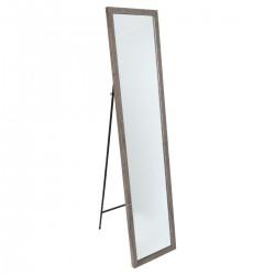Miroir sur pied 155X35cm - Bois foncé